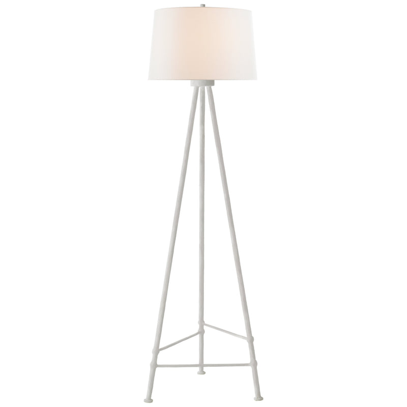 Visual Comfort JN 1032PW-L Julie Neill Lafitte Large Floor Lamp in Plaster White