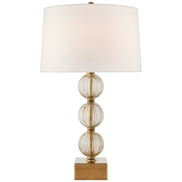 Visual Comfort JN 3703GMG-L Julie Neill Sazerac Large Table Lamp in Gold Murano Glass