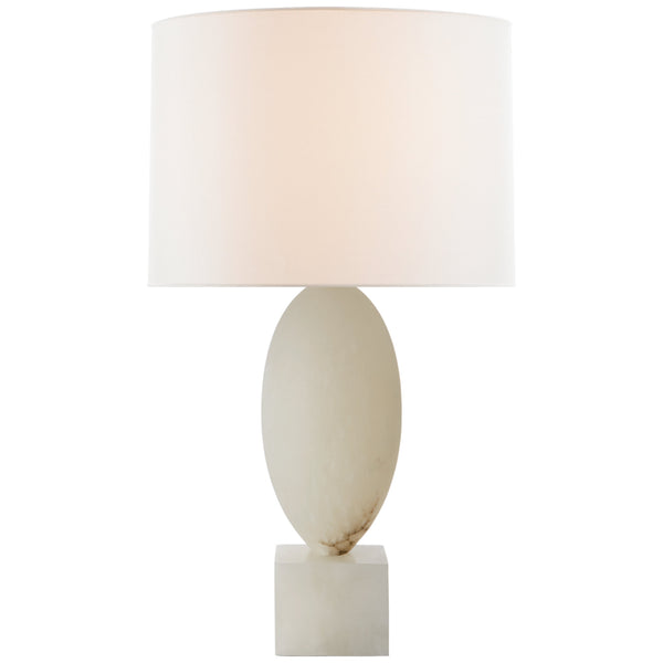 Visual Comfort JN 3903ALB-L Julie Neill Versa Large Table Lamp in Alabaster