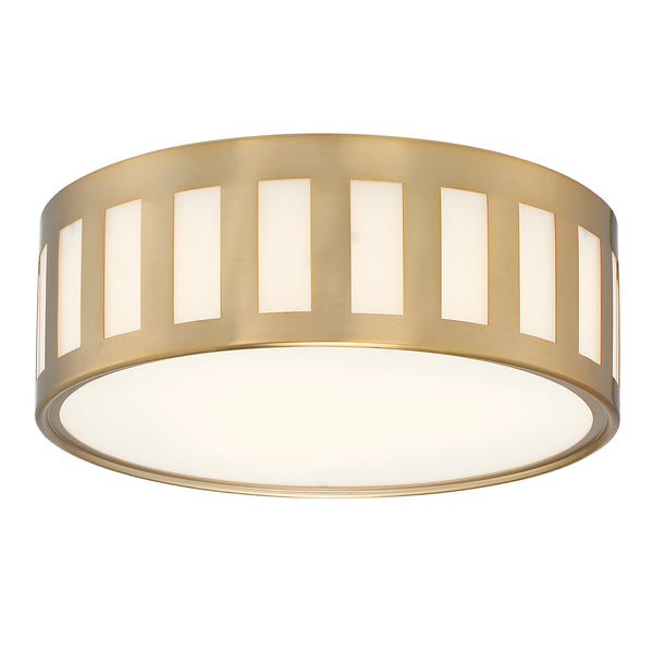 Crystorama KEN-2203-VG Kendal Ceiling Mount in Vibrant Gold