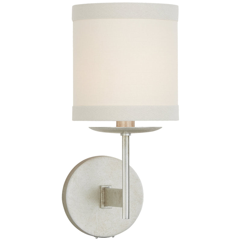 Visual Comfort KS 2070BSL-L kate spade new york Walker Small Sconce in Burnished Silver Leaf