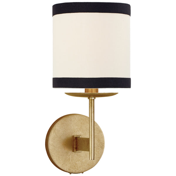 Visual Comfort KS 2070G-L/BL kate spade new york Modern Walker Small Sconce in Gild