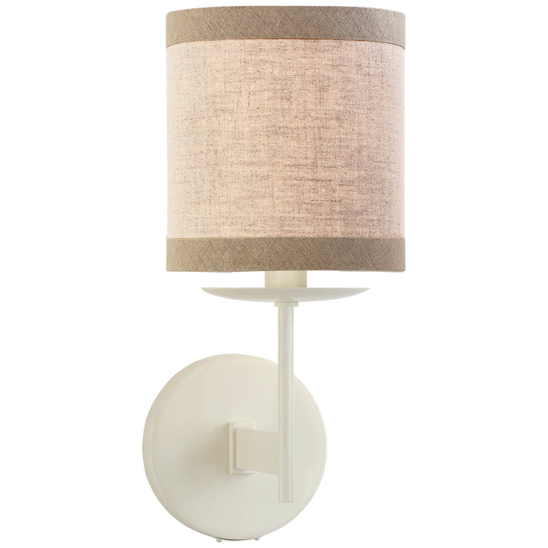 Visual Comfort KS 2070LC-NL kate spade new york Modern Walker Small Sconce in Light Cream