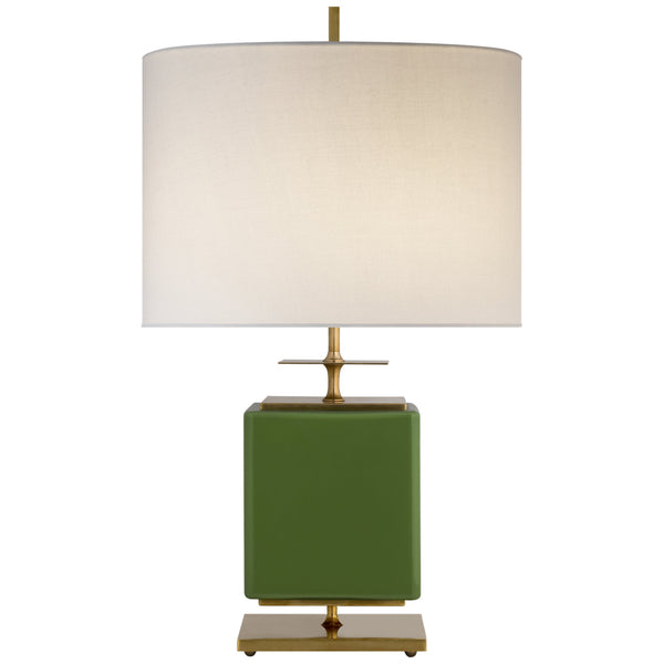 Visual Comfort KS 3043GRN-L kate spade new york Beekman Small Table Lamp in Green