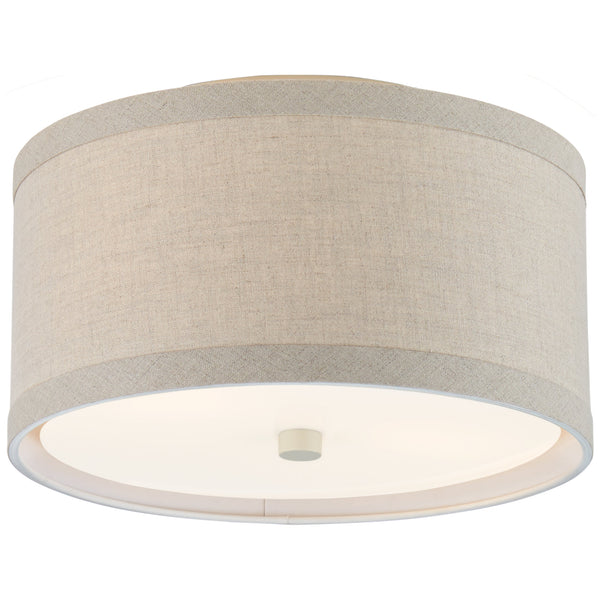 Visual Comfort KS 4070LC-NL kate spade new york Walker Small Flush Mount in Light Cream