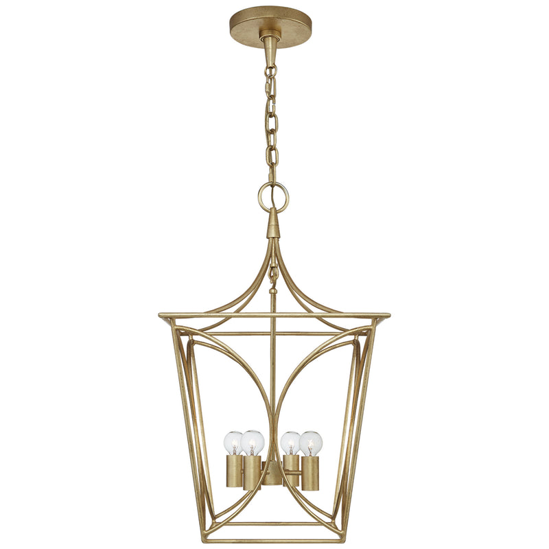 Visual Comfort KS 5144G Kate Spade New York Casual Cavanagh Small Lantern in Gild