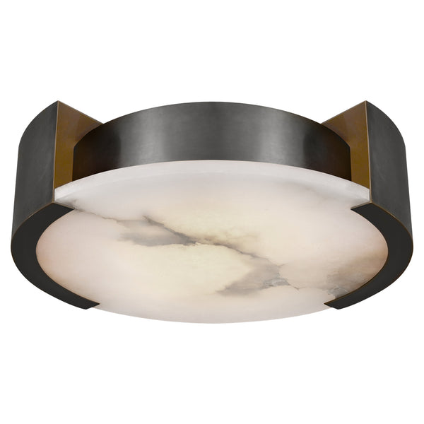 Visual Comfort KW 4013BZ Kelly Wearstler Modern Melange Large Flush Mount in Bronze