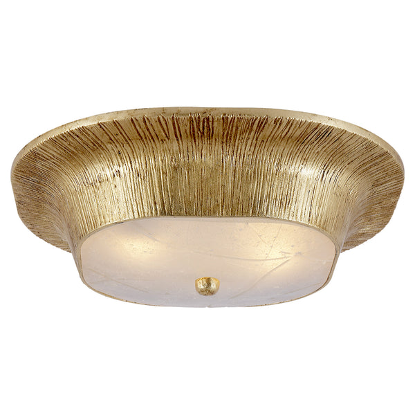Visual Comfort KW 4050G-FR Kelly Wearstler Utopia Round Sconce in Gild