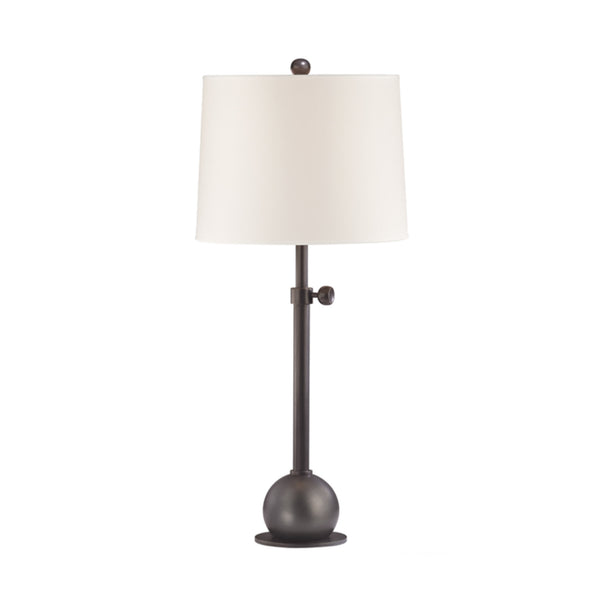 Hudson Valley Lighting L114-OB-WS Marshall 1 Light Adjustable Table Lamp in Old Bronze