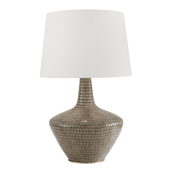 Hudson Valley Lighting L1357-SG Truxton 1 Light Table Lamp in Sage