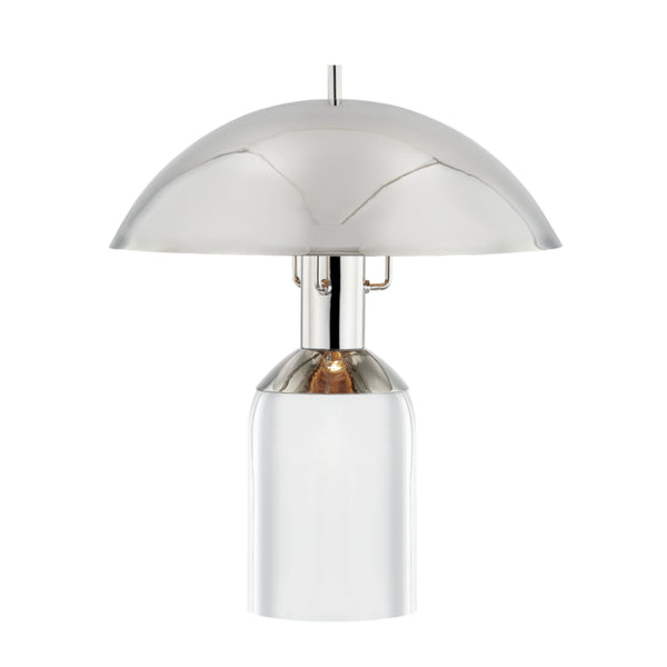 Hudson Valley Lighting L1512-PN Bayside 1 Light Large Table Lamp in Polished Nickel