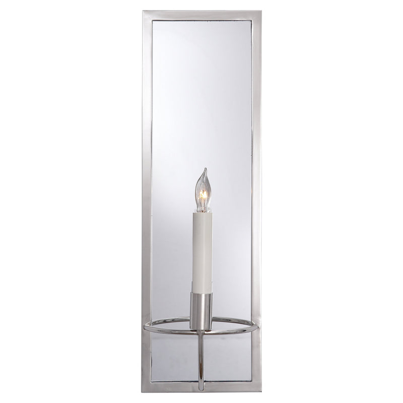 Visual Comfort NW 2115PN Niermann Weeks Regent Rectangular Sconce in Polished Nickel