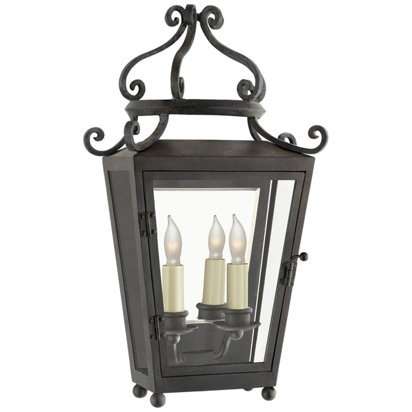 Visual Comfort NW 2706FR-CG Niermann Weeks Lafayette Small 1/2 Sconce in French Rust