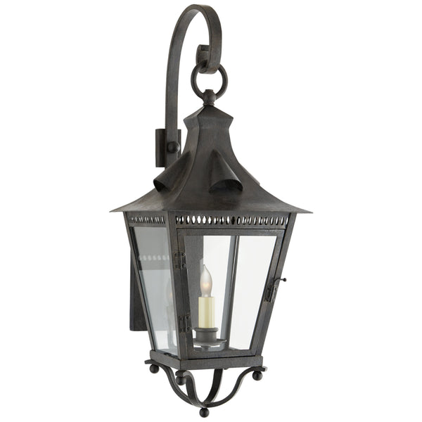 Visual Comfort NW 2708FR-CG Niermann Weeks Traditional Orleans Small Bracketed Lantern in French Rust