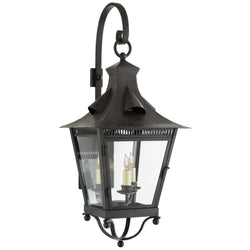 Visual Comfort NW 2710FR-CG Niermann Weeks Orleans Medium Bracketed Lantern in French Rust