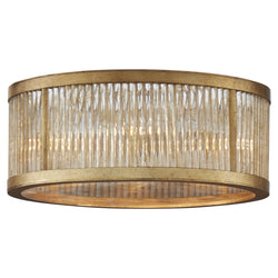 Visual Comfort NW 4020GI Niermann Weeks Sophie Medium Flush Mount in Gilded Iron