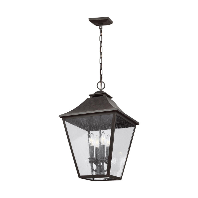 Generation Lighting OL14408SBL Feiss Galena 4 Light Outdoor Light in Sable