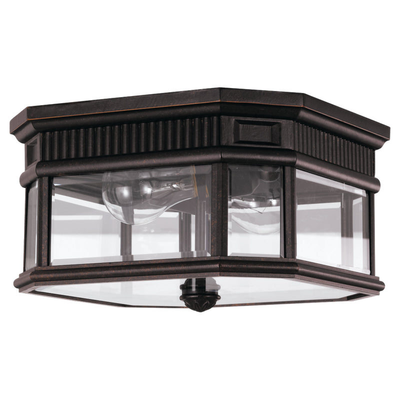 Generation Lighting OL5413GBZ Feiss Cotswold Lane 2 Light Outdoor Light in Grecian Bronze