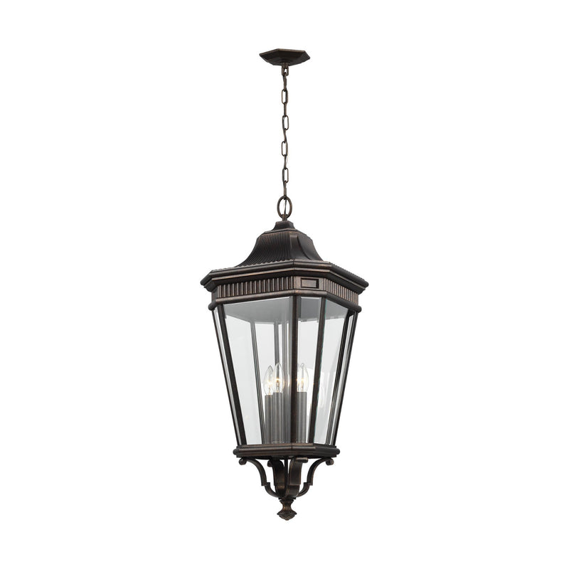 Generation Lighting OL5414GBZ Feiss Cotswold Lane 4 Light Outdoor Light in Grecian Bronze
