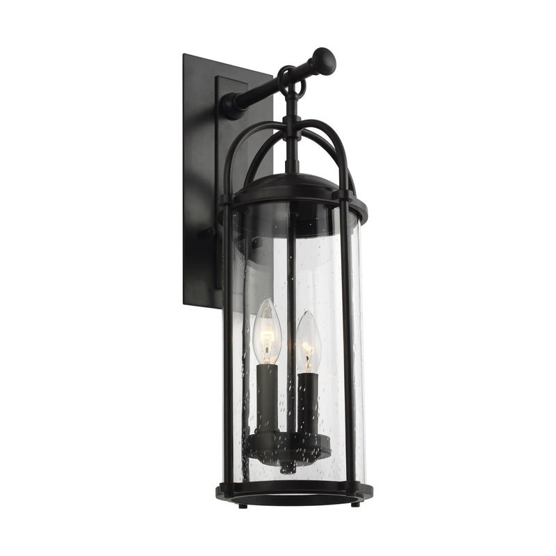 Generation Lighting OL7622ES Feiss Dakota 2 Light Outdoor Light in Espresso