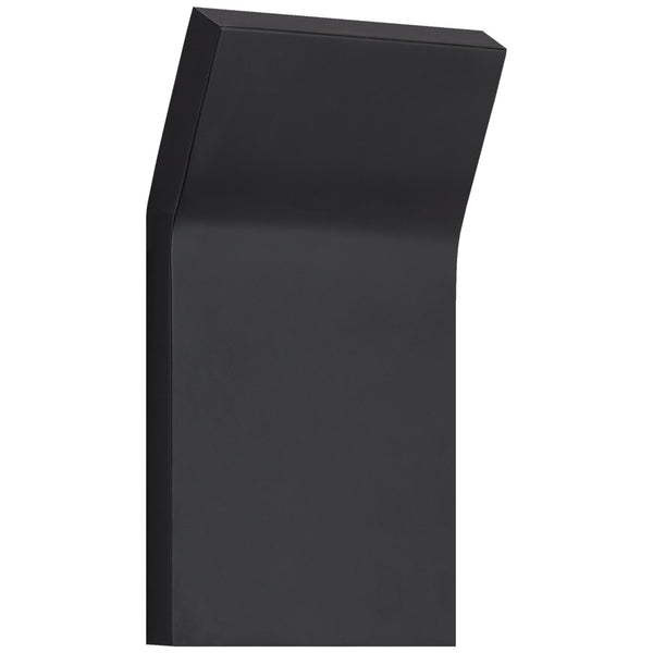 Visual Comfort PB 2052MBK Peter Bristol Bend Medium Square Light in Matte Black