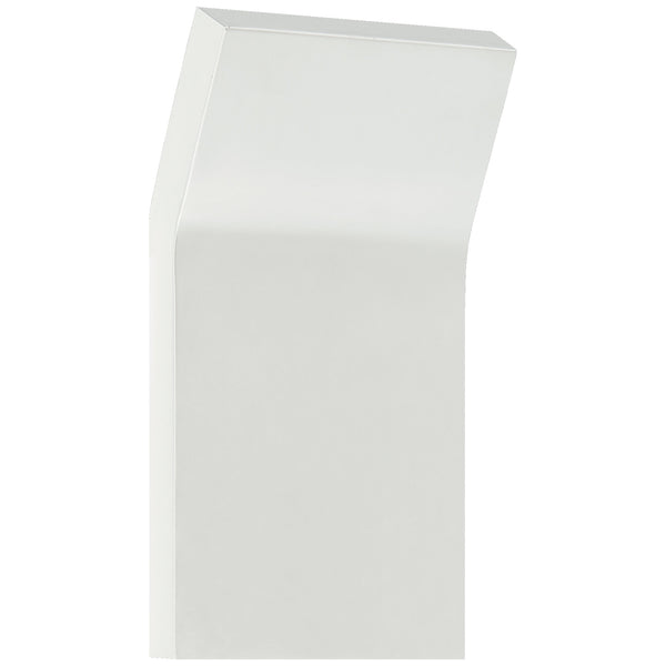 Visual Comfort PB 2052WHT Peter Bristol Bend Medium Square Light in White