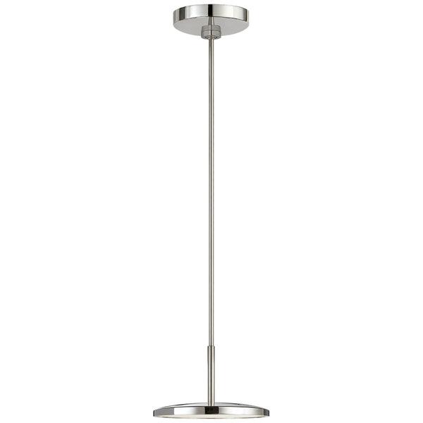 "Visual Comfort PB 5002PN Peter Bristol Dot 9"" Pendant in Polished Nickel"