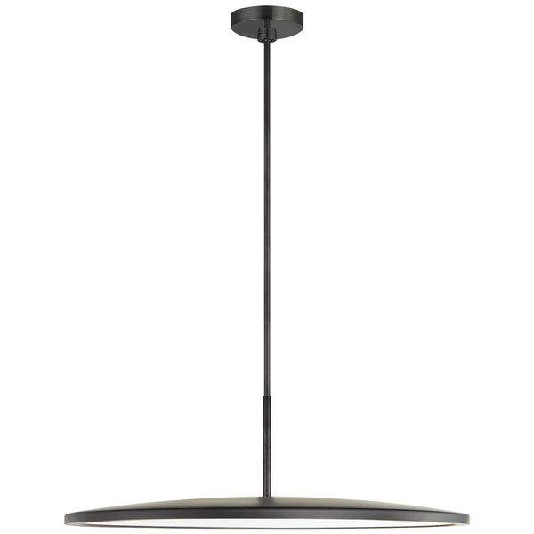 "Visual Comfort PB 5003MBK Peter Bristol Dot 22"" Pendant in Matte Black"