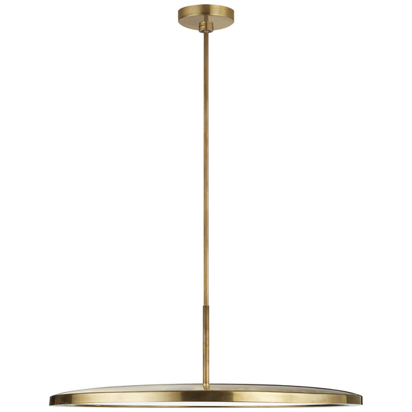 "Visual Comfort PB 5003NB Peter Bristol Dot 22"" Pendant in Natural Brass"