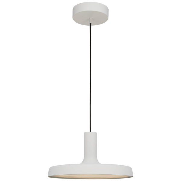 "Visual Comfort PB 5010STW Peter Bristol Farmhouse Dot 13"" Pendant in Stone White"