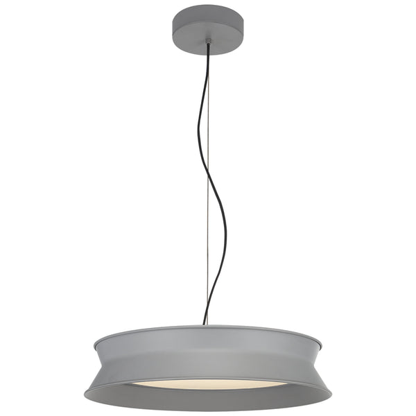 "Visual Comfort PB 5020STG Peter Bristol 60/40 Dot 16"" Pendant in Stone Gray"