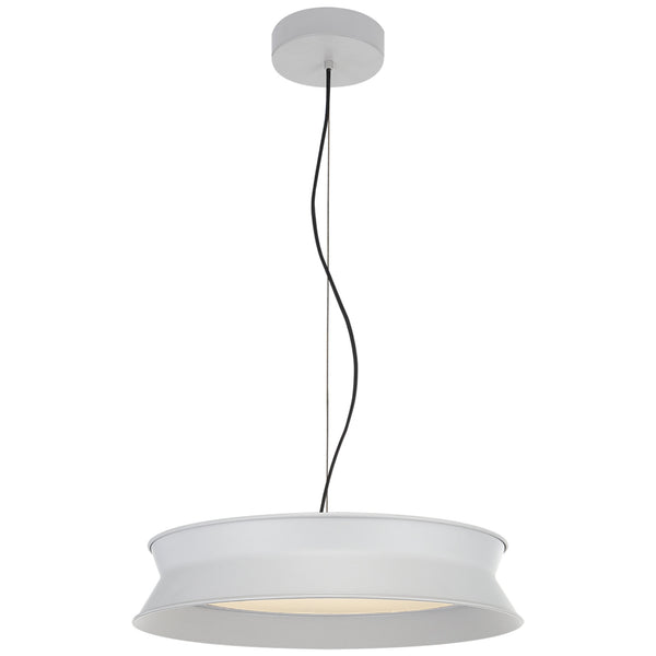 "Visual Comfort PB 5020STW Peter Bristol 60/40 Dot 16"" Pendant in Stone White"