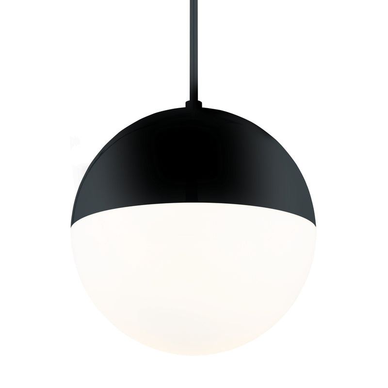 Modern Forms PD-24614-BK 3000K 30 Watt Punk LED Pendant in Black