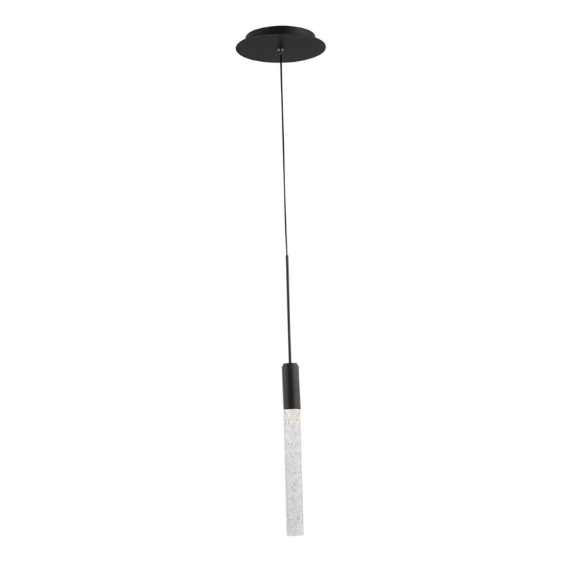 Modern Forms PD-35601-BK 3000K 5.5 Watt Magic LED Pendant in Black