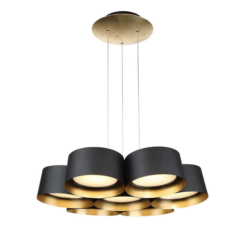 Modern Forms PD-52724-GL 3000K 59 Watt Marimba LED Chandelier in Gold Leaf