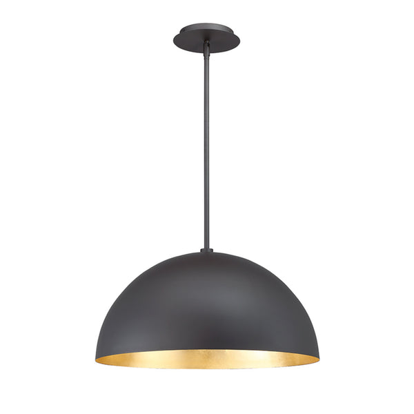 Modern Forms PD-55718-GL 3000K 21 Watt Yolo LED Pendant in Gold Leaf