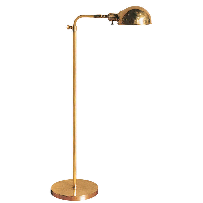 Visual Comfort S 1100HAB Studio VC Old Pharmacy Floor Lamp in Hand-Rubbed Antique Brass