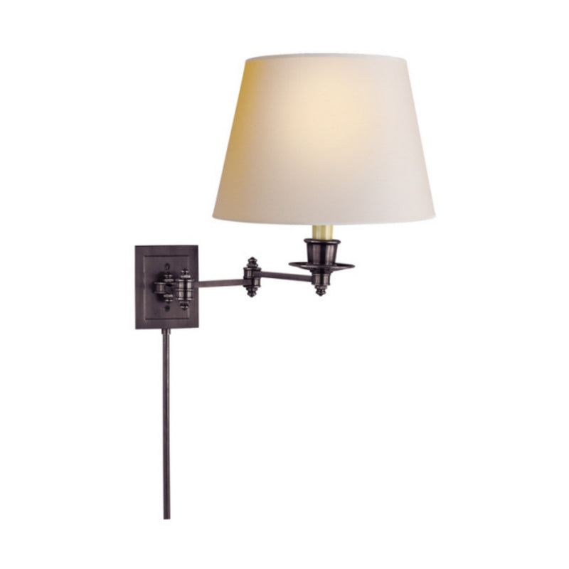 Visual Comfort S 2000BZ-NP Studio VC Triple Swing Arm Wall Lamp in Bronze