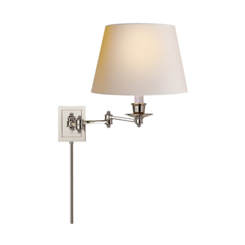Visual Comfort S 2000PN-NP Studio VC Triple Swing Arm Wall Lamp in Polished Nickel