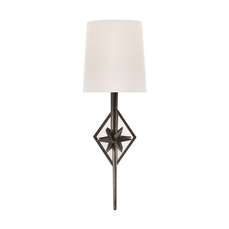 Visual Comfort S 2320AI-NP Ian K. Fowler Etoile Sconce in Aged Iron