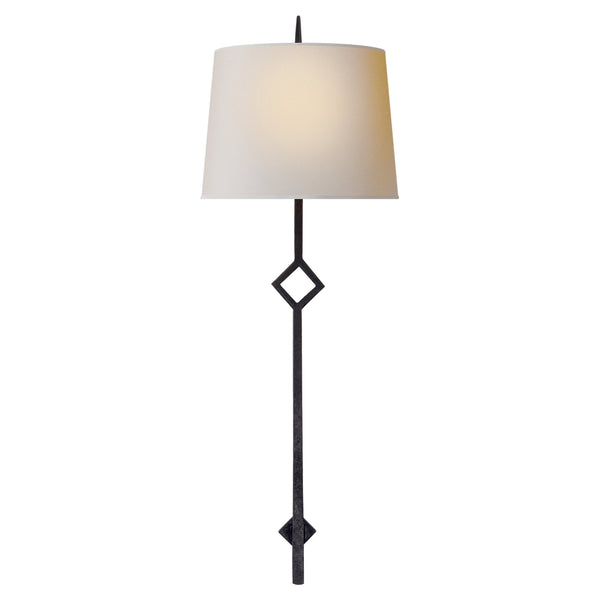 Visual Comfort S 2408AI-NP Studio VC Cranston Large Sconce in Aged Iron