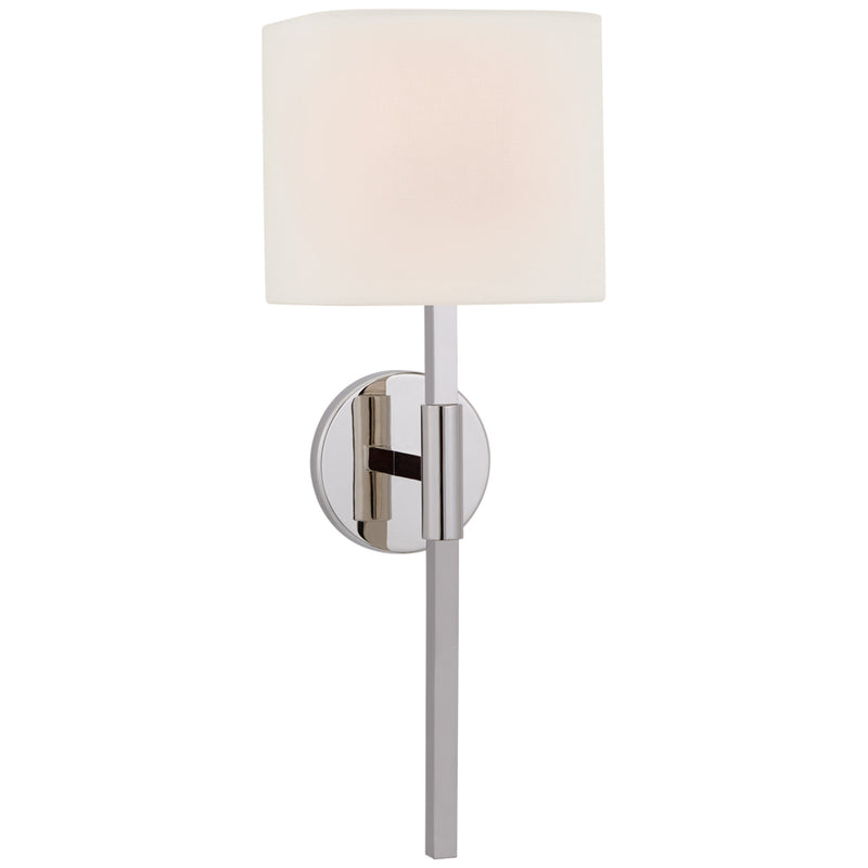 Visual Comfort S 2435PN-L Ian K. Fowler Auray Medium Tail Sconce in Polished Nickel