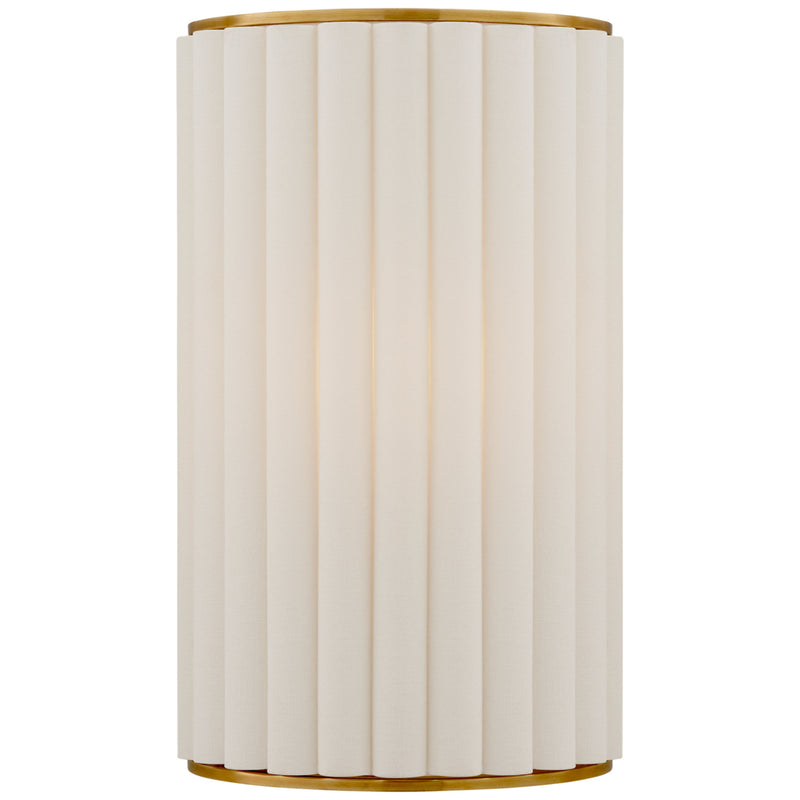 Visual Comfort S 2440HAB-L Ian K. Fowler Palati Small Sconce in Hand-Rubbed Antique Brass