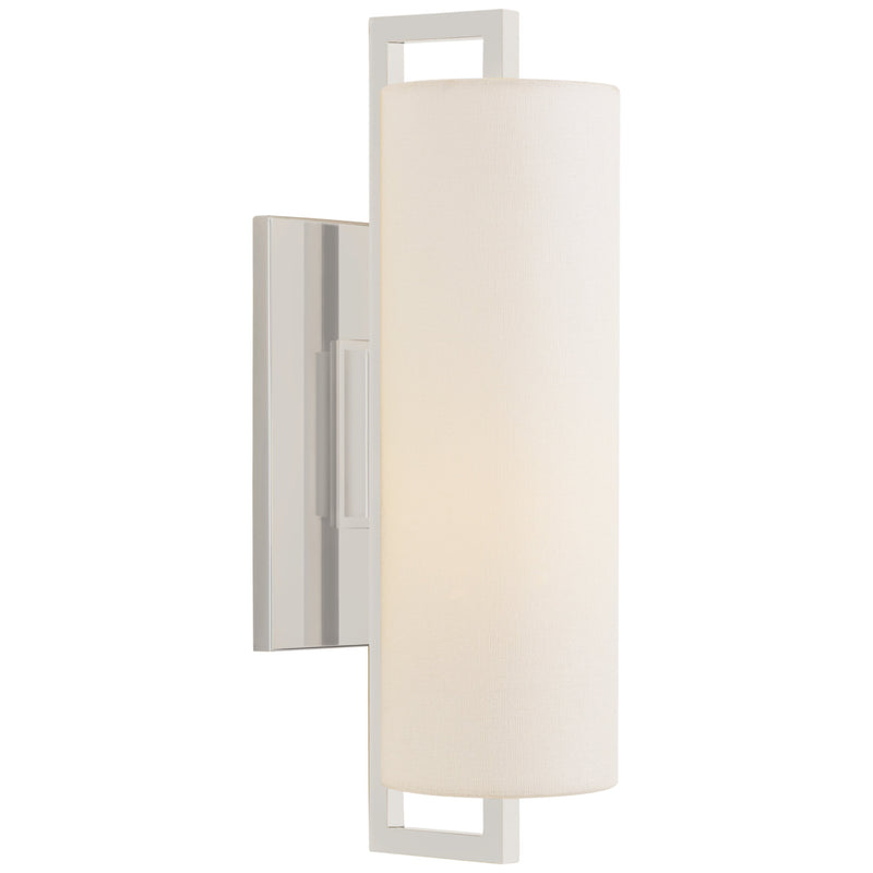 Visual Comfort S 2520PN-L Ian K. Fowler Bowen Medium Sconce in Polished Nickel
