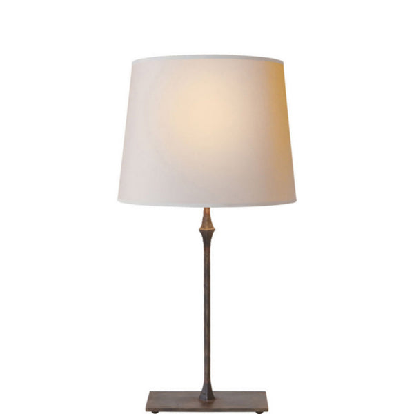 Visual Comfort S 3400AI-NP Studio VC Dauphine Bedside Lamp in Aged Iron