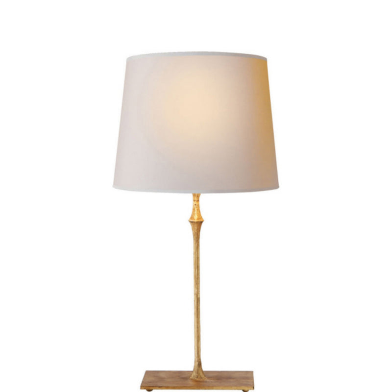 Visual Comfort S 3400GI-NP Studio VC Dauphine Bedside Lamp in Gilded Iron