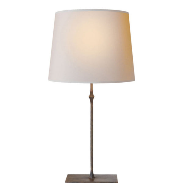 Visual Comfort S 3401AI-NP Studio VC Dauphine Table Lamp in Aged Iron