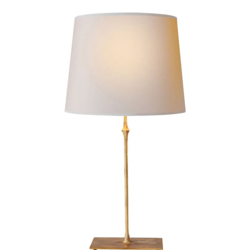 Visual Comfort S 3401GI-NP Studio VC Dauphine Table Lamp in Gilded Iron