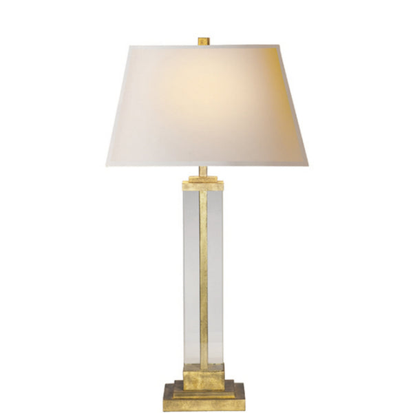 Visual Comfort S 3701GI-NP Studio VC Wright Table Lamp in Gilded Iron