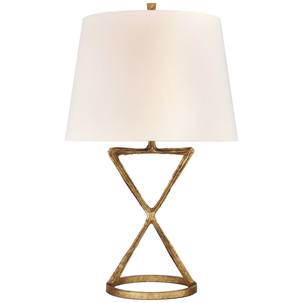 Visual Comfort S 3715GI-L Studio VC Anneu Table Lamp in Gilded Iron
